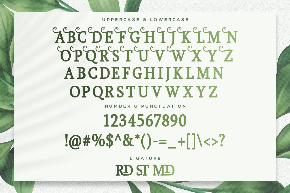 Girdens Decorative Serif Font-3
