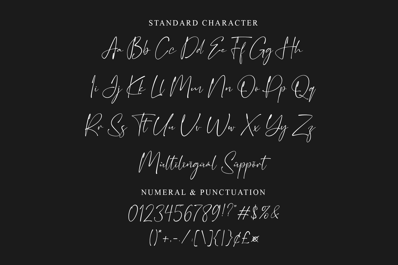 Glittery Modern Calligraphy Script Font-3