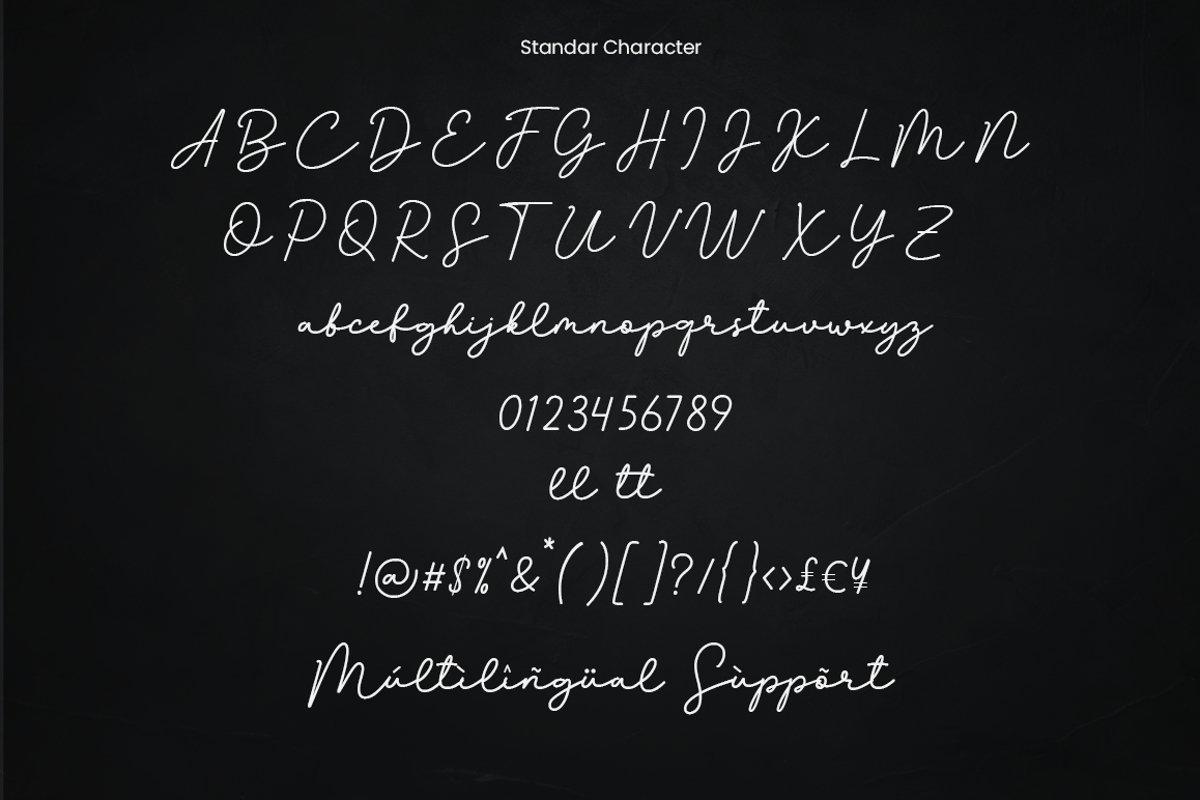 Gorinchem Handwritten Signature Font-3