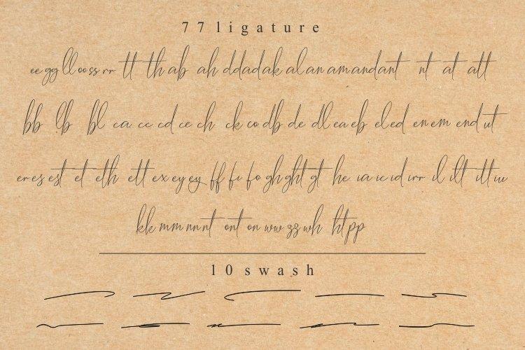 Hantoria Signature Script Font-3