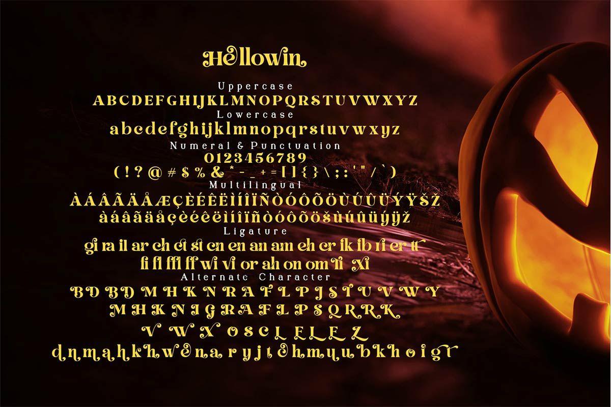 Hellowin Modern Serif Font-2