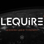Lequire Display Logo Typeface