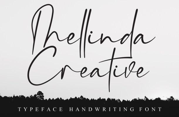 Mellinda Creative Signature Script Typeface