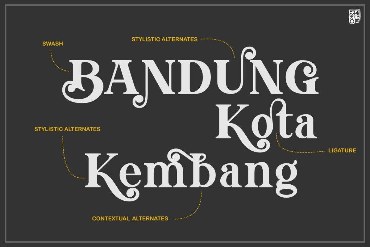 Morning Sunshine Modern Serif Typeface-2