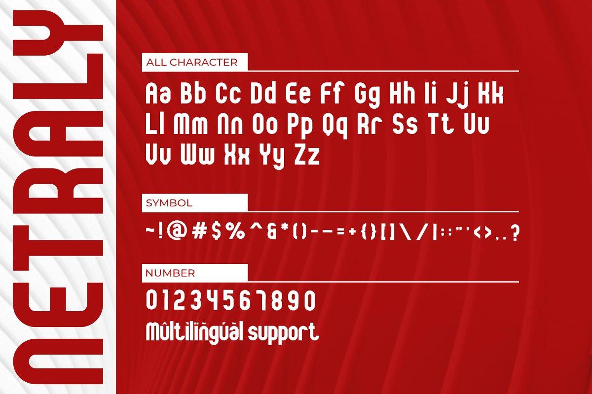 Netraly Modern Sans Serif Font-3