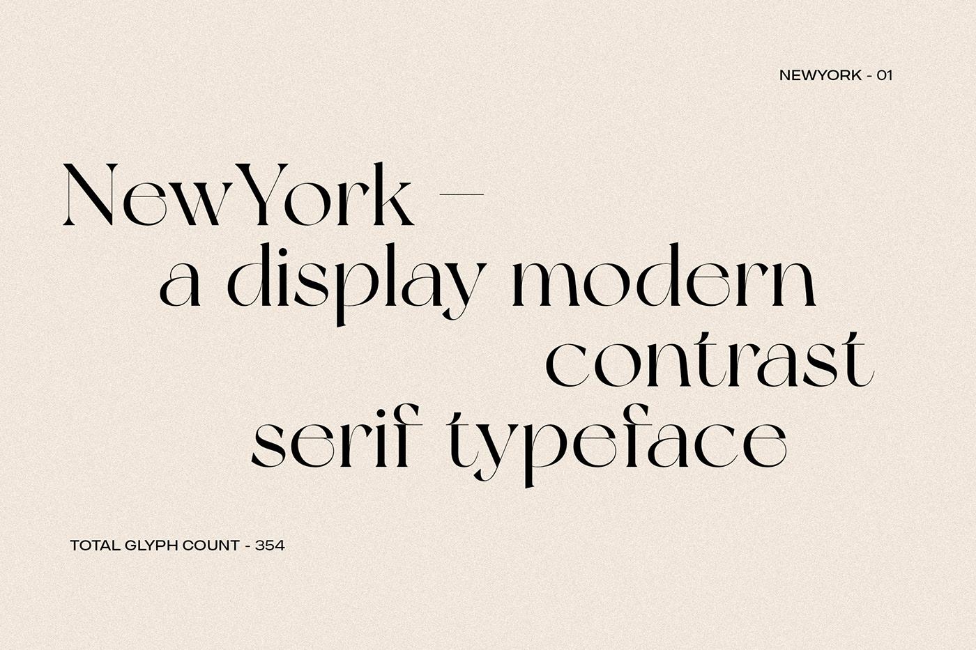 New York Modern Serif Typeface-2