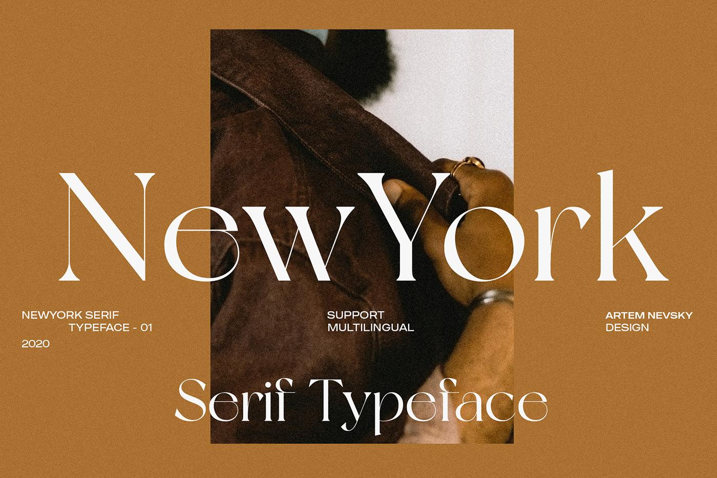 New York Modern Serif Typeface