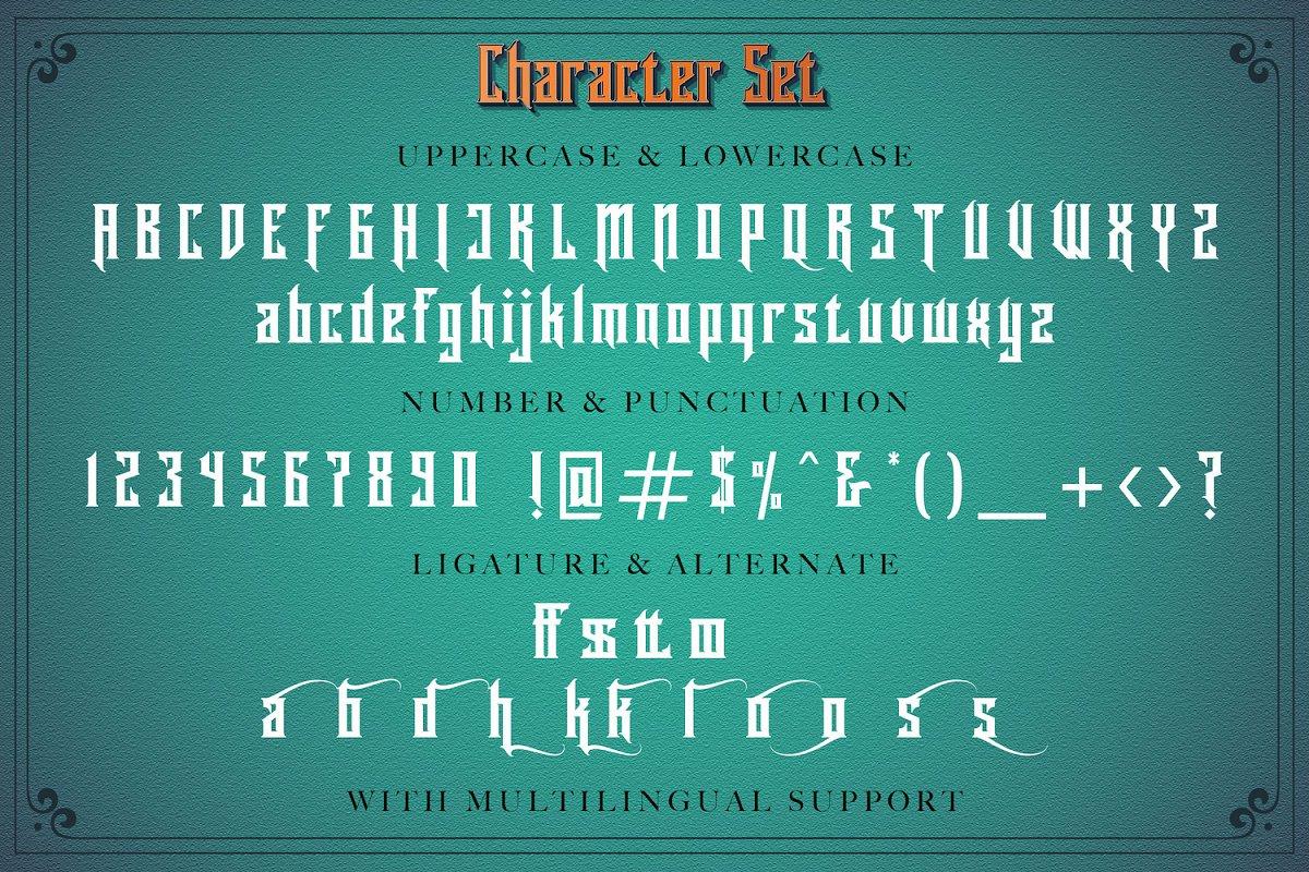 Rademos Decorative Blackletter Font-3