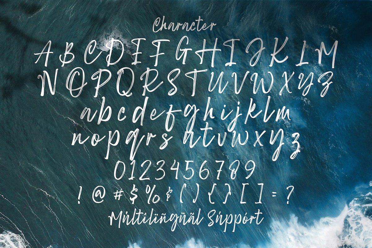 Sang Dewi Hand Brush Script Font-3