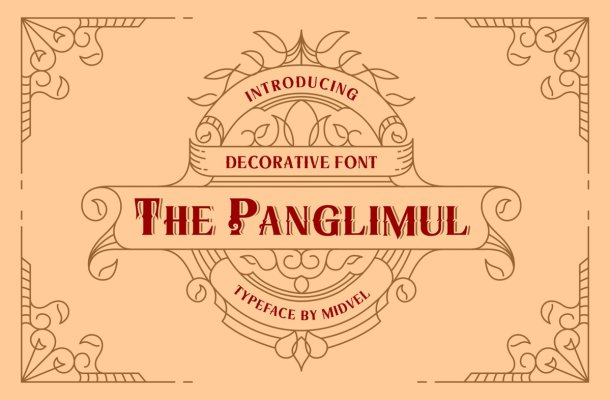 The Panglimul Display Typeface