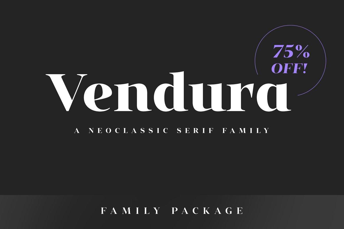 Vendura Neoclassic Serif Font