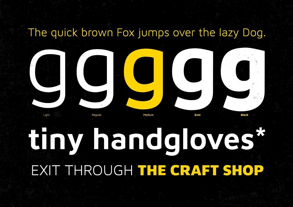 XXII Aven Sans Serif Font Family-2