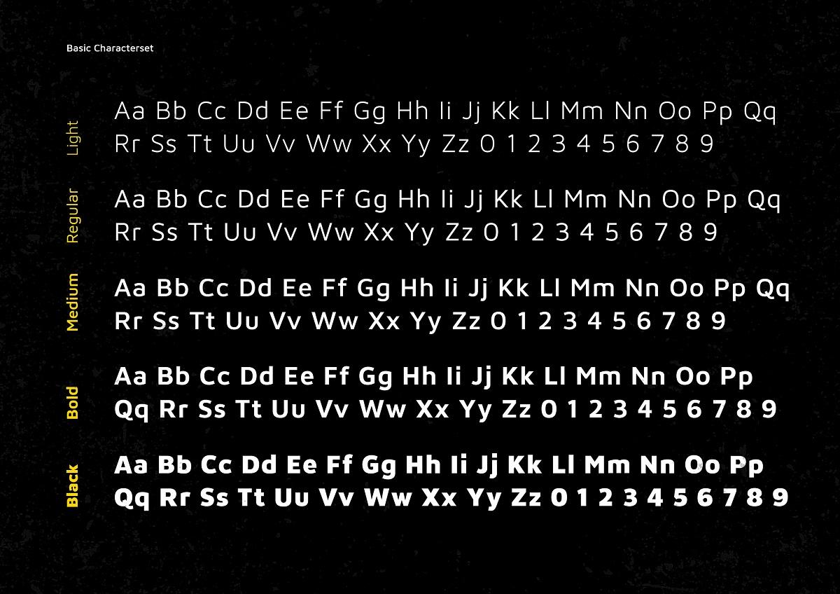 XXII Aven Sans Serif Font Family-3