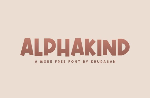 Alphakind Font