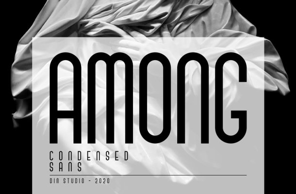 Among Condensed Sans Serif Font