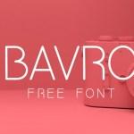 Bavro Font