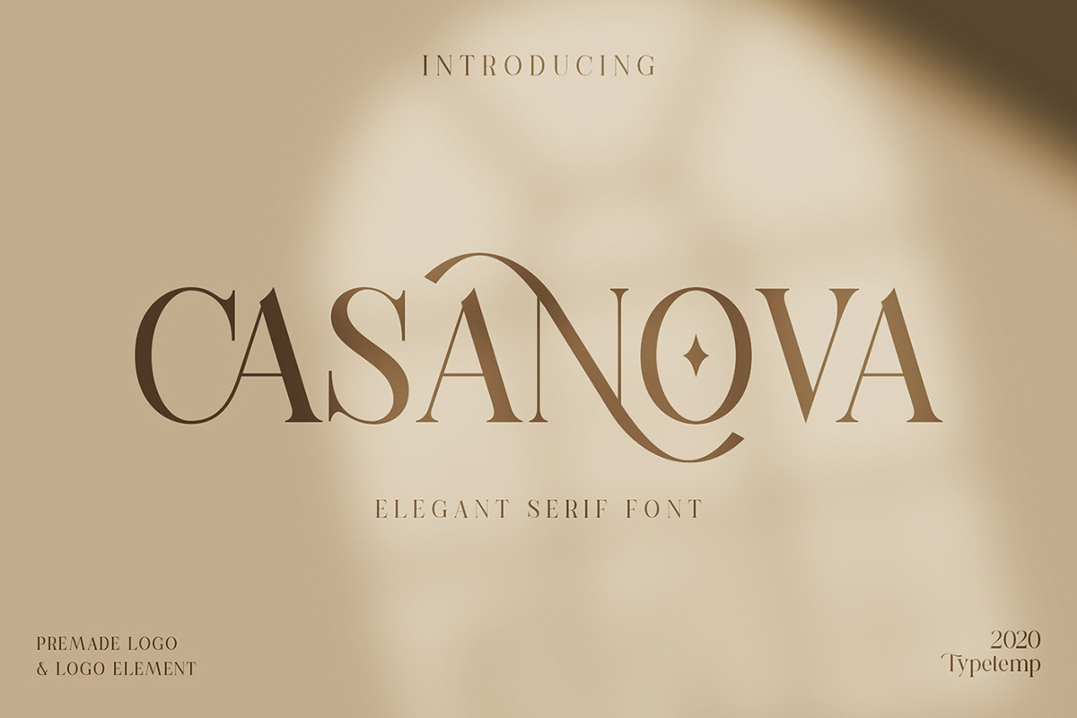 Casanova Elegant Serif Font
