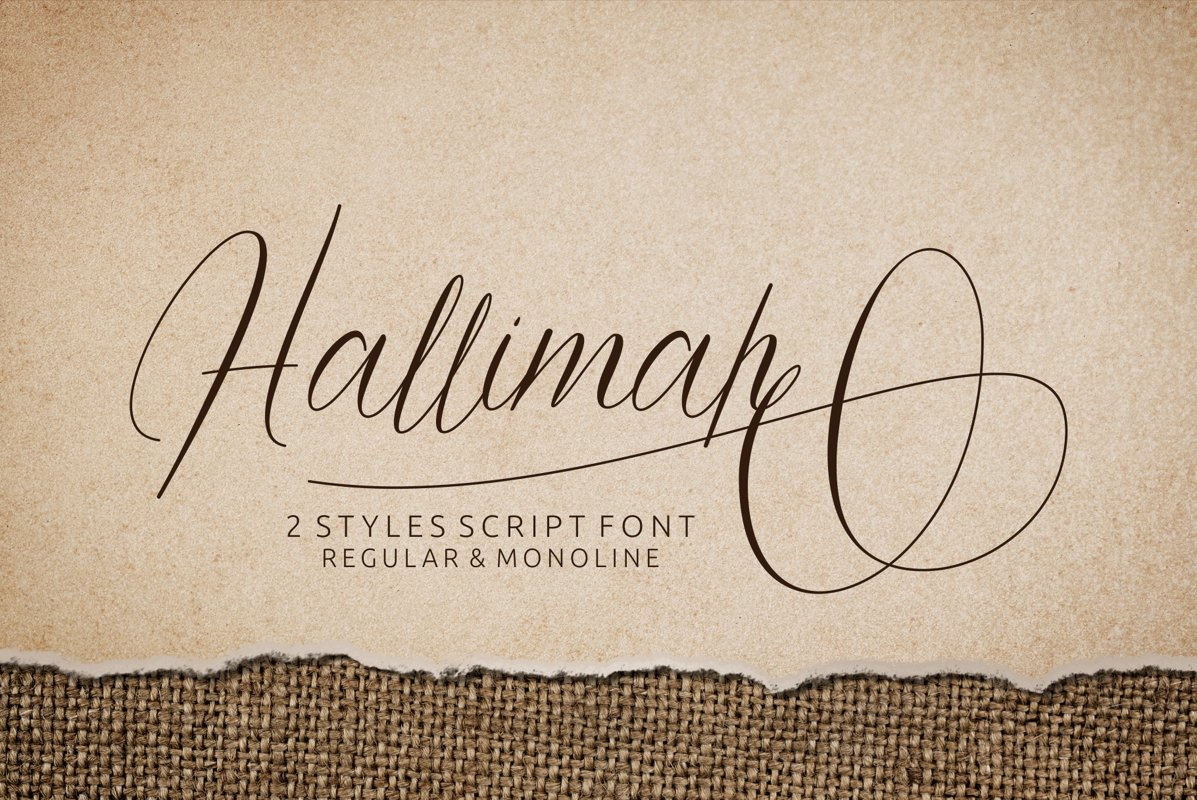 Hallimah Font