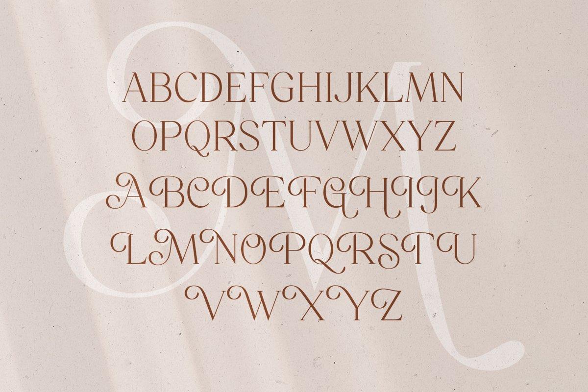 Mitchaella Unique Luxury Serif Typeface-2