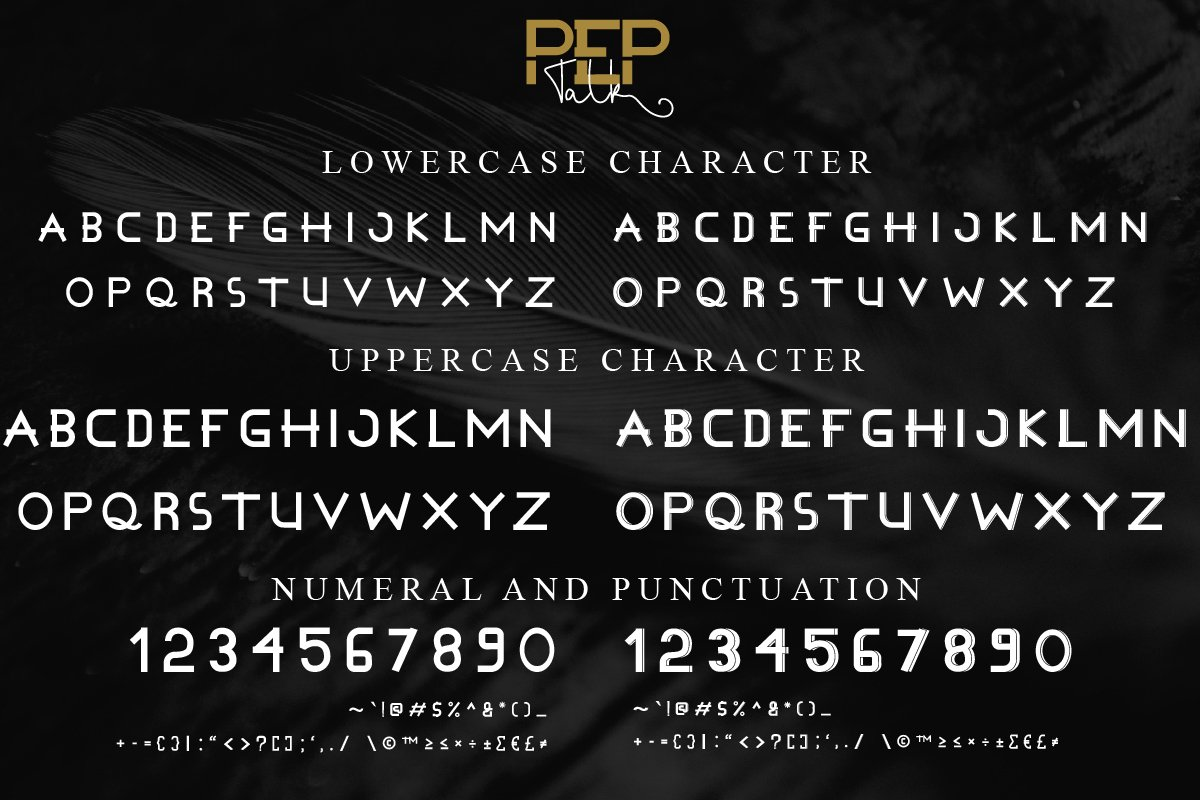 Pep Talk Font Duo-2