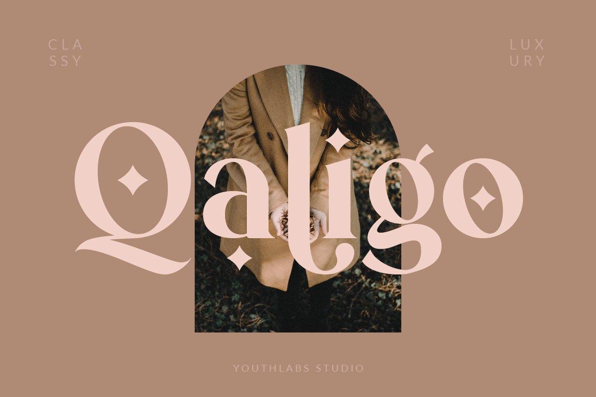 Qaligo Font-1