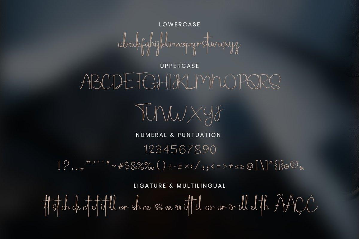 Routhem Handwritten Signature Font-3