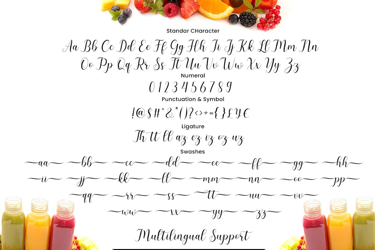 Smoothie Font-3