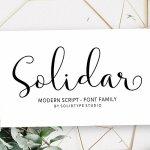 Solidar Font
