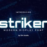 Striker Modern Sans Display Font