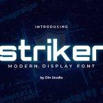 Striker Modern Sans Display Font