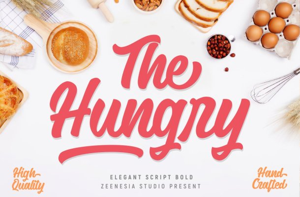 The Hungry Font