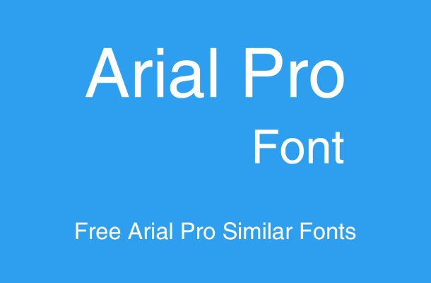 Arial Font Free Alternatives