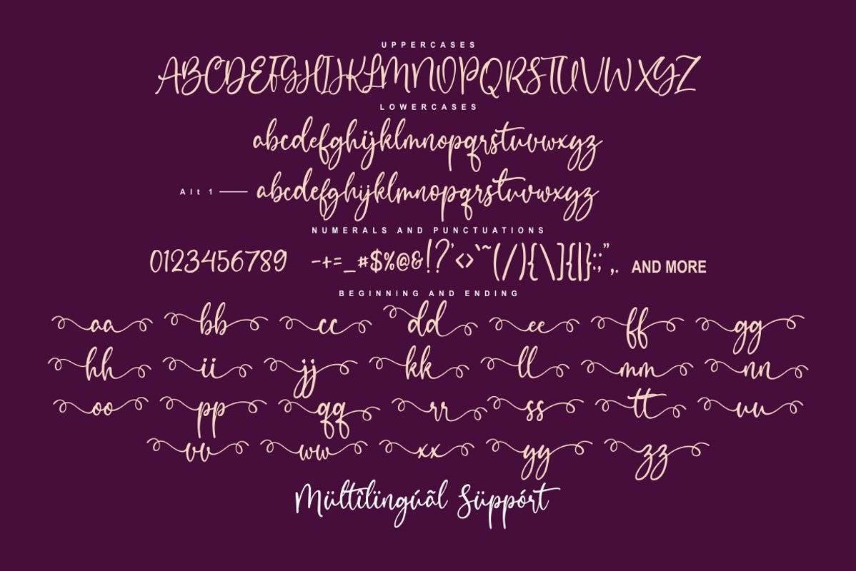 Heart Breath Font-3