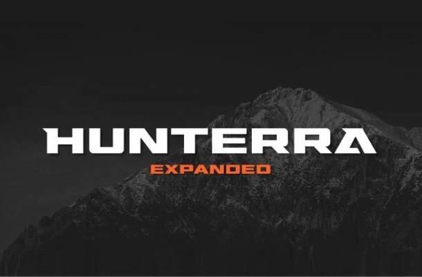 Hunterra Font