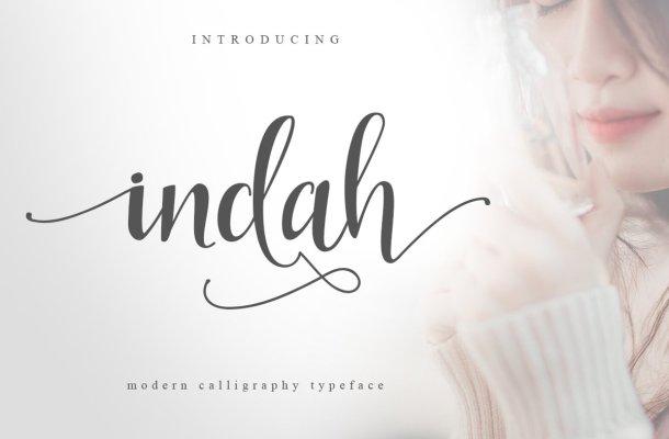 Indah Typeface
