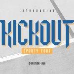 Kickout Font
