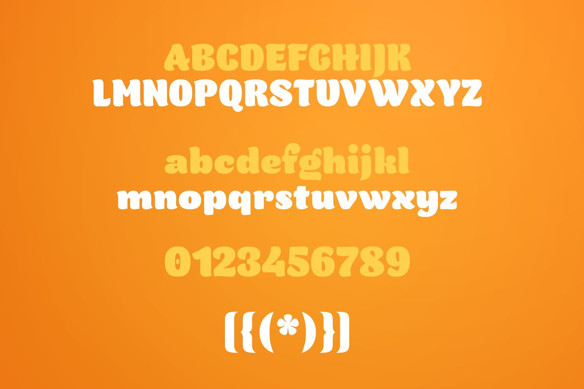Orangina Font-3