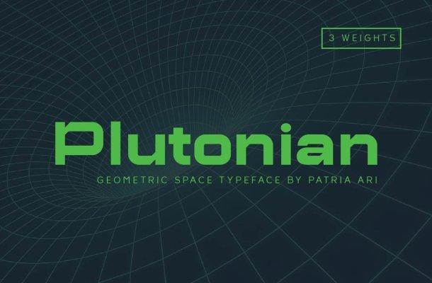 Plutonian Typeface