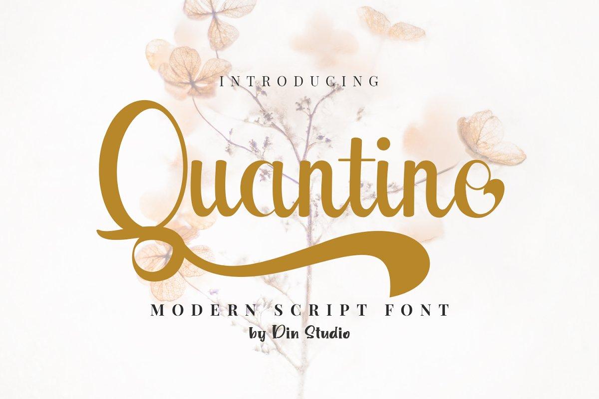 Quantine Font