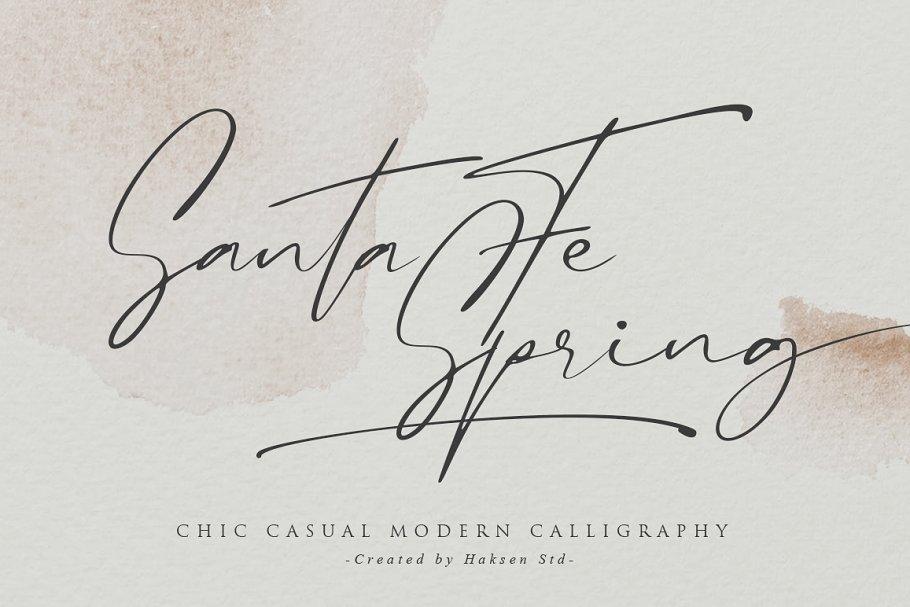Santa Fe Spring Font