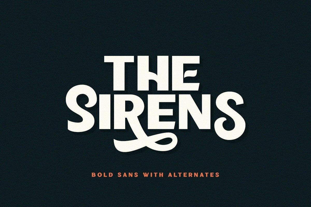 Sirens Font