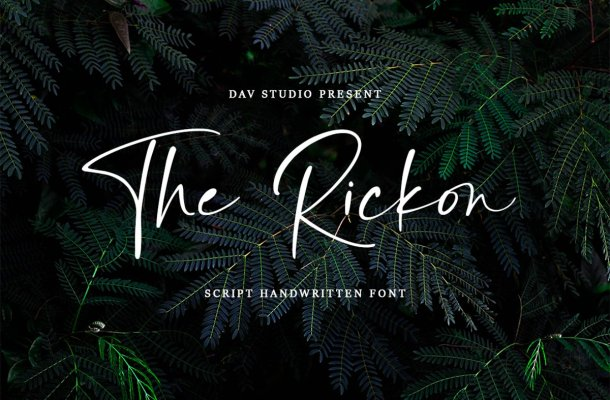 The Rickon Font
