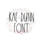 Rae Dunn Font