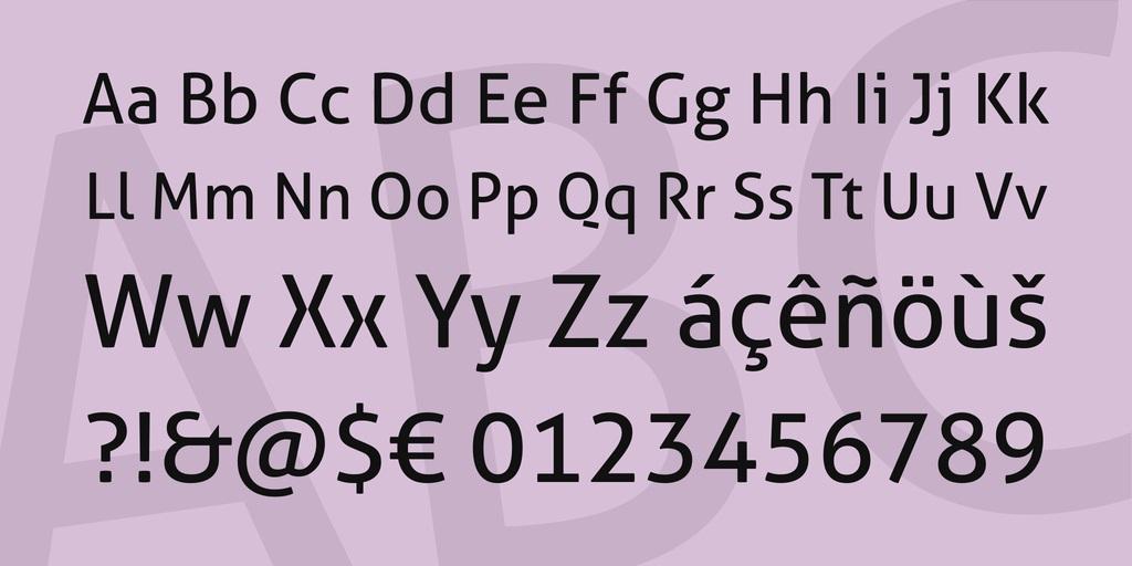 Aller Font-3