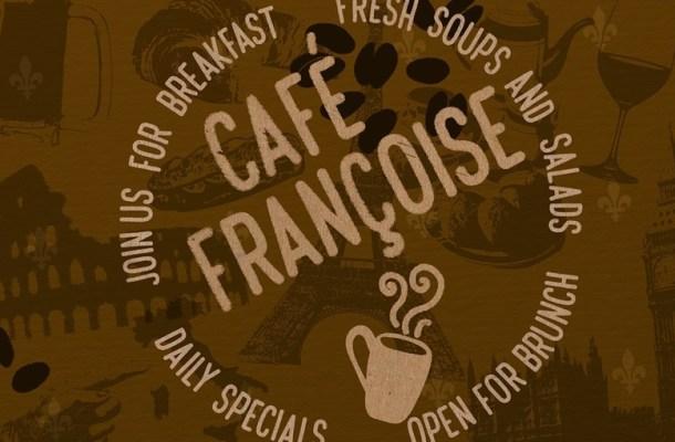 Cafe Francoise Font