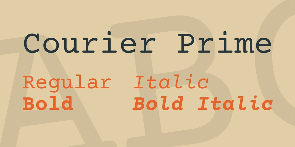 Courier Prime Font-2
