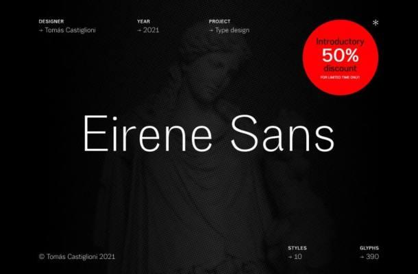 Eirene Sans Font Free