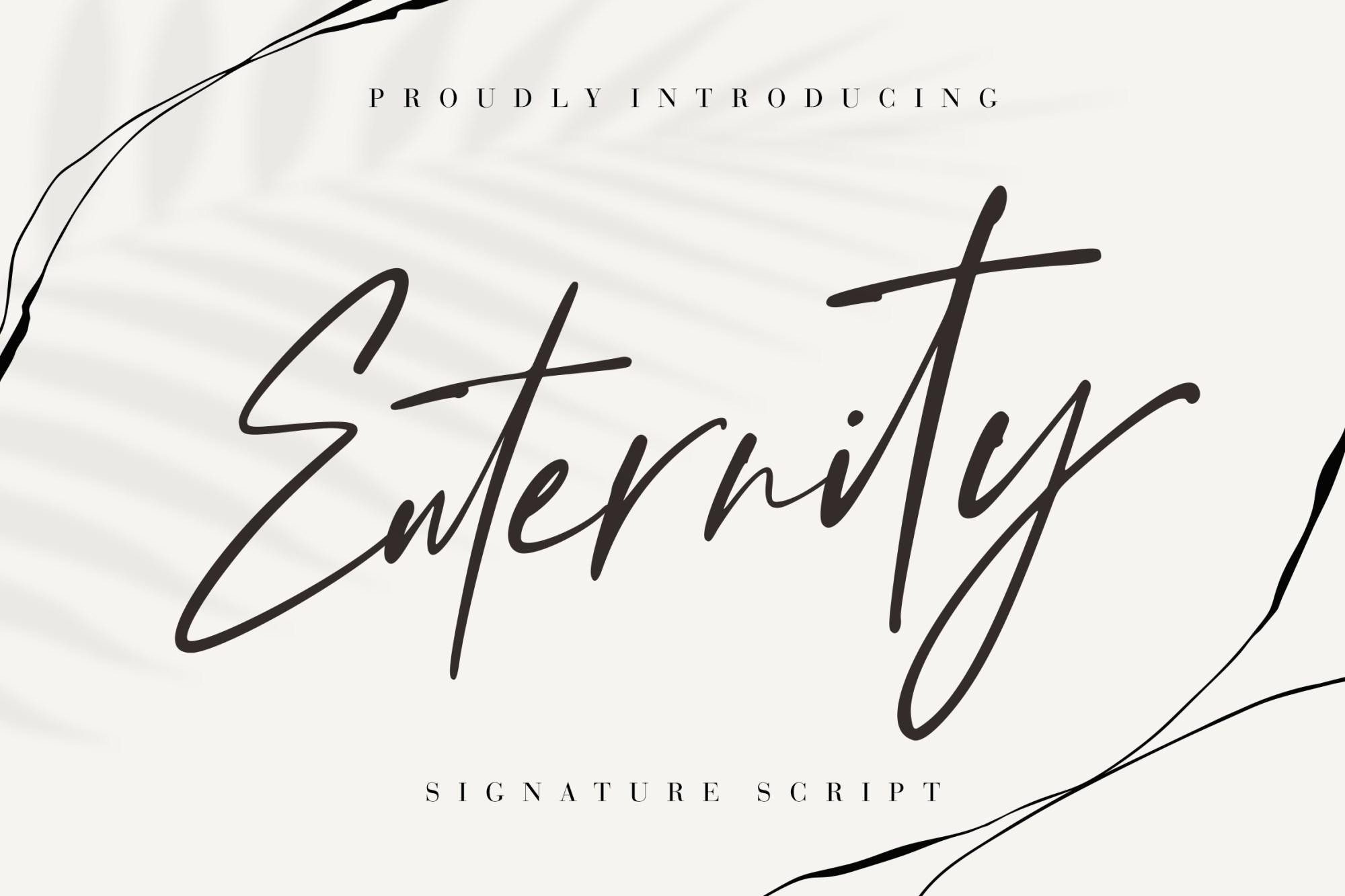 Enternity-Script-Font-1