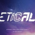 Etical Font