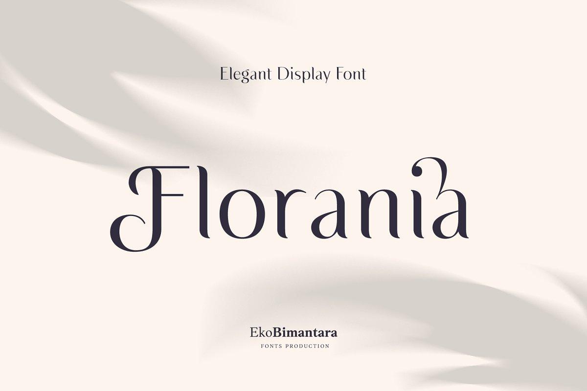 Florania Font